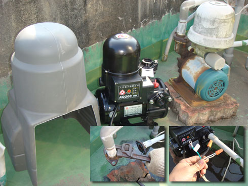 DIY更換加壓馬達 Constant Pressure Pump Replacement