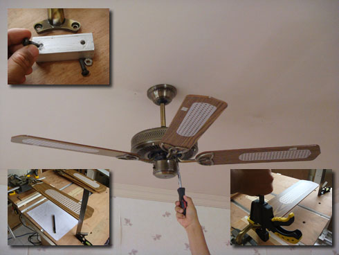 吊扇搖晃 fix ceiling fan wobble